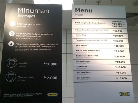 Makanan Ikea ikea alam sutera dreamtravelmom