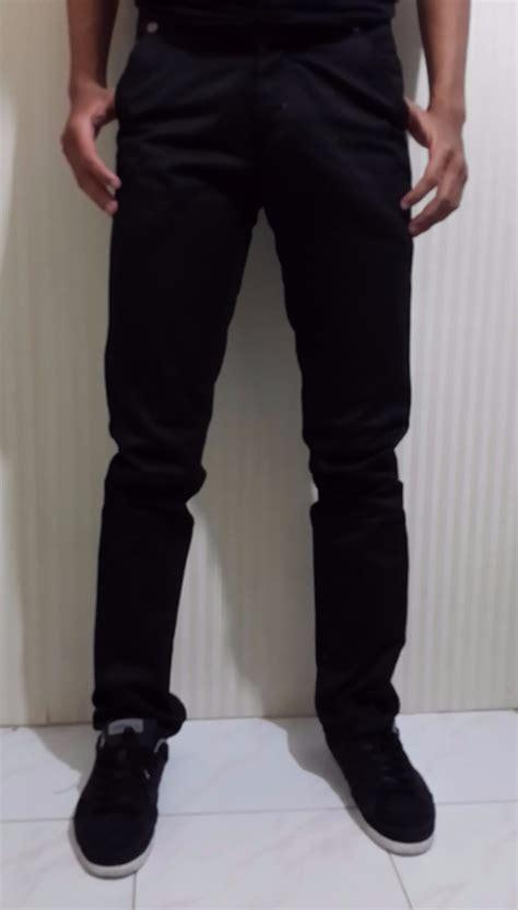 Katun Twill Size S jual celana chino regular fit celana chinos pria nbx