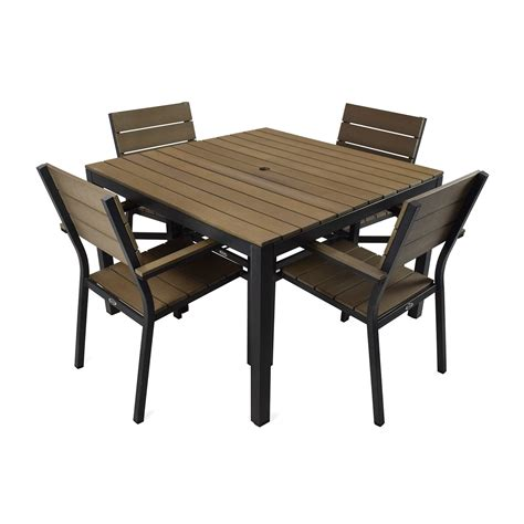home depot l sets 5 piece patio dining set home design ideas and pictures
