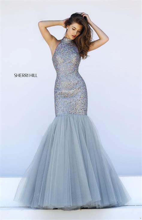 Azzure Dress Silver sherri hill prom sherri hill 11323 sherri hill 2017 designer homecoming dresses
