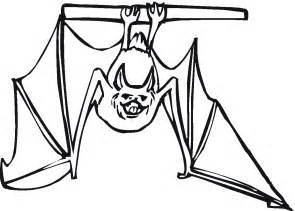 bat coloring pages free printable bat coloring pages for