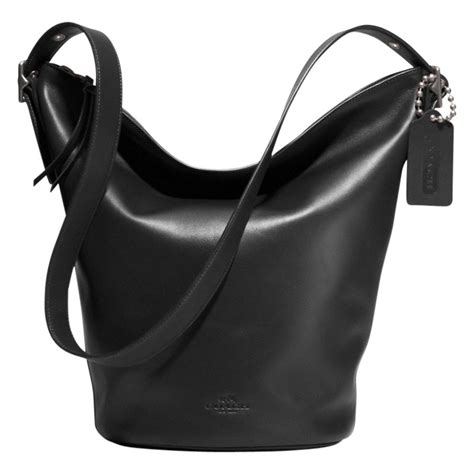 Coach Bleeker Leather Large Duffle by Coach Bleecker Soft Port Duffle Leather Bag In Black Lyst