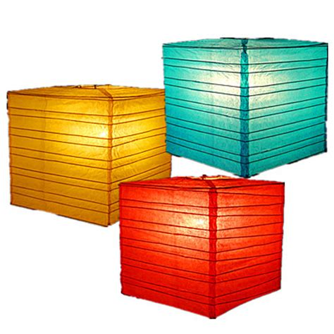 imgs for gt square japanese paper lantern
