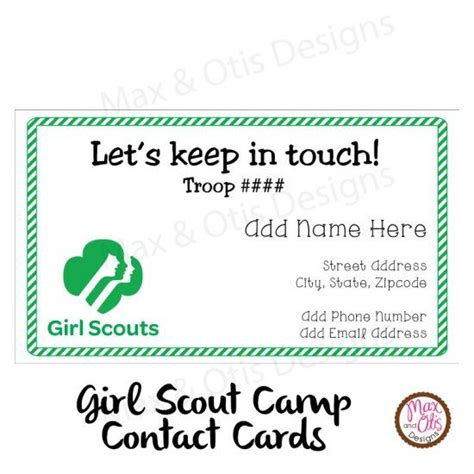 printable girl scout name tags 17 best images about girl scouts cing ideas on