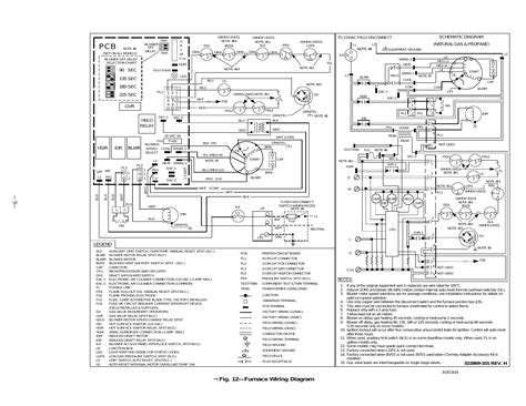 fig 12 furnace wiring diagram bryant gas fired induced