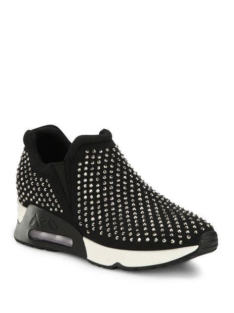 studded sneakers ash lunare studded platform sneakers in black lyst