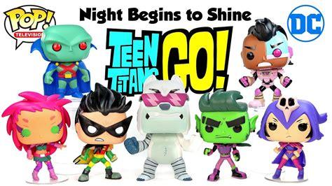 Funko Pop Tv Go Tnbts Beast Boy funko pop go begins to shine cyborg