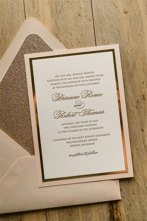 Wedding Invitation Suite Packages by Diane Suite Fancy Glitter Package Glitter Wedding