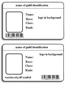 Id Template by Id Card Template Cyberuse