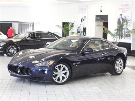 Average Price For A Maserati 2008 Maserati Granturismo For Sale In Indianapolis In
