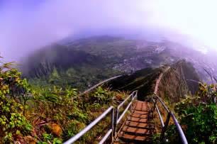 Stairs Hawaii haiku stairs oahu hawaii amazing places