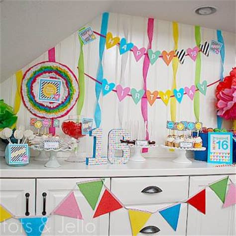 sweet 16 sweet sixteen ideas tip