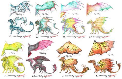 colors of dragons color designs 1 8 by bravebabysitter on deviantart