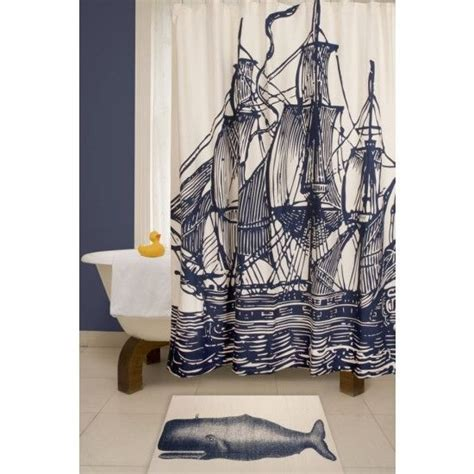 ship shower curtain cool ink ship shower curtain so fresh so clean pinterest