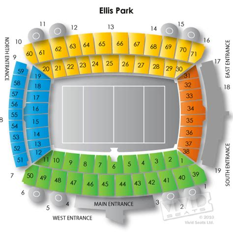 ellis park floor plan ellis park stadium south africa seating chart vivid seats