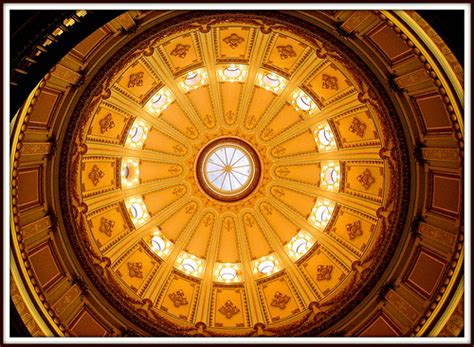 dome ceiling construction interior ceiling of the california state capitol building
