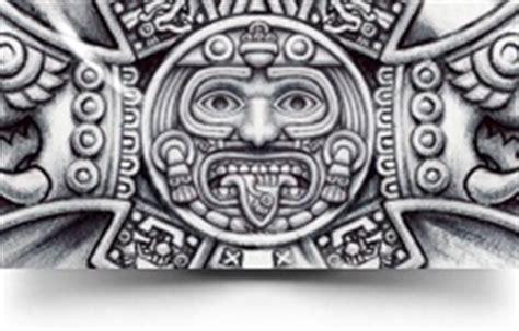 tonatiuh aztec cross aztec tattoos aztec mayan inca