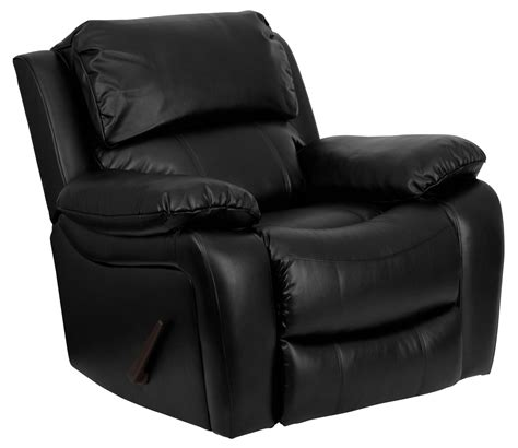 small black leather recliner black leather rocker recliner from renegade coleman