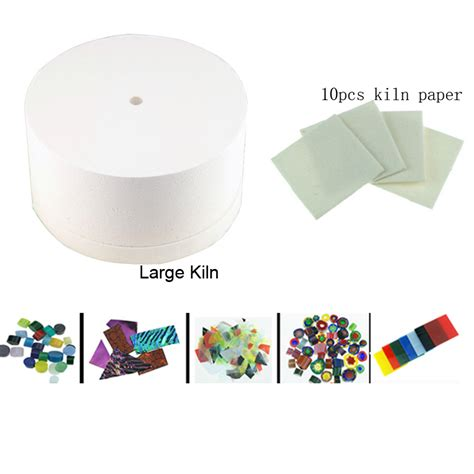 Fusing Glass In Microwave Kiln Kits Include A Large