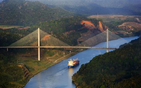 hd wonderful bridge   panama canal wallpaper