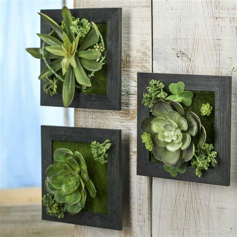Succulent Wall Planter For Sale by Artificial Succulent Frame Planter Wall Decor Home Decor