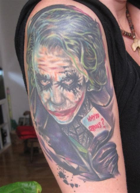 tattoo von joker soisses joker tattoos von tattoo bewertung de