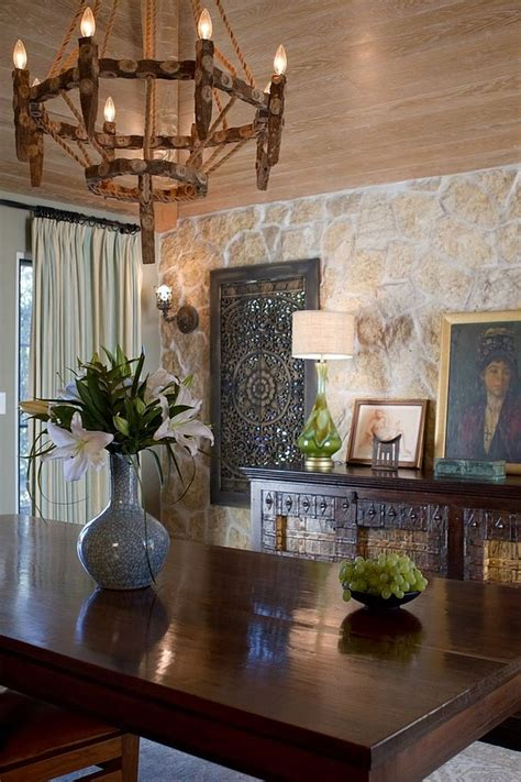 indian themed dining room 15 gorgeous dining rooms with stone walls