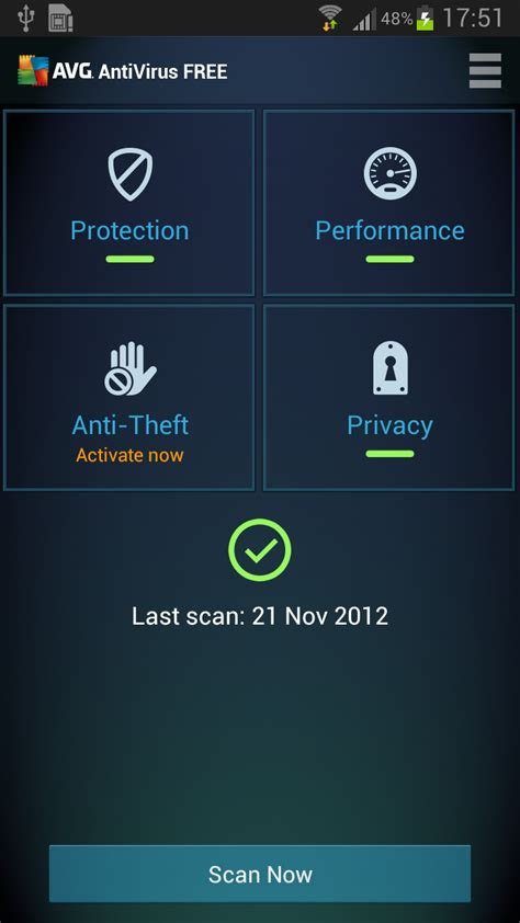 antivirus software for android meirapopdie avg anti virus pro for android
