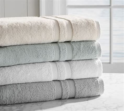 pottery barn essential sheets pb essential 650 gram weight bath towels pottery barn