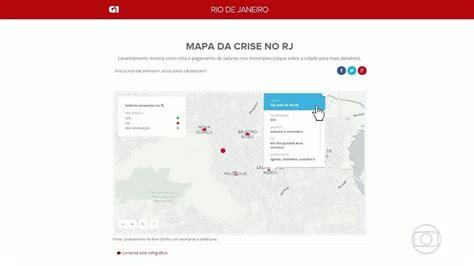 g1 pagamento servidores rj 13 salario de 2016 mapa da crise rj tem quase 20 munic 237 pios com sal 225 rios de