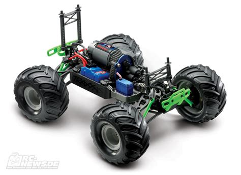 traxxas grave digger rc truck traxxas 1 16 2wd jam grave digger