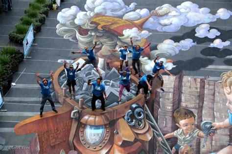 chalk paint sydney 3d circular quay sydney australia 3d painting