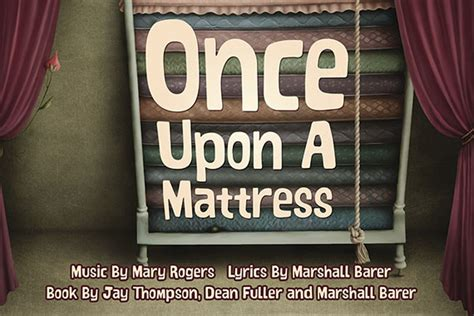 Song Of Once Upon A Mattress by Players Club Of Swarthmore Swarthmore Pa 187 Once Upon A