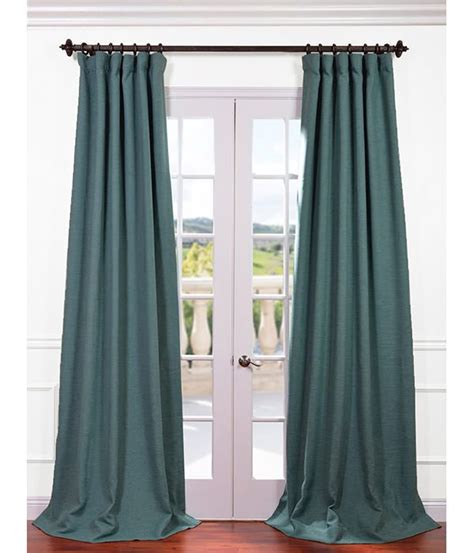 blackout curtains with hooks jadite bellino blackout curtain 50wx108l 69 pole pocket