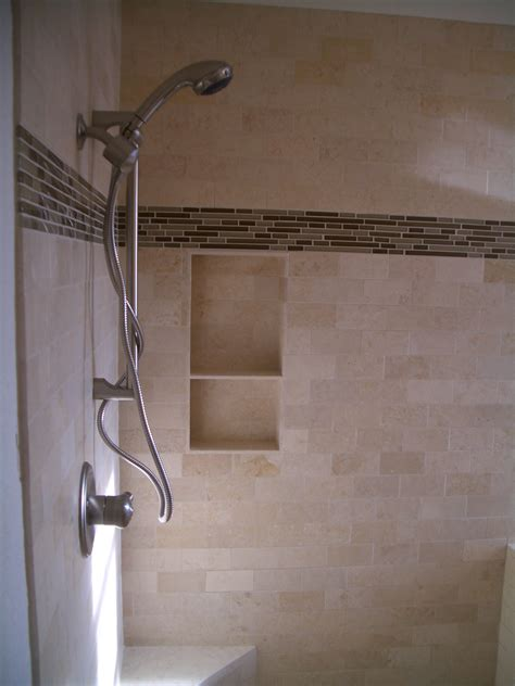 Small Shower Ideas by How To Build A Niche For Your Shower Part 4