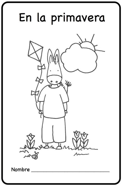 spring coloring pages in spanish 17 best images about mi clase de espa 241 ol on pinterest