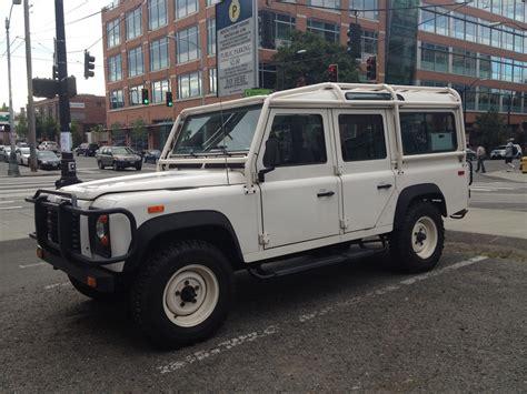 2000 land rover defender street parked 1993 defender 110 startinggrid