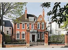 London's Elite Streets: Avenue Road, St John's Wood ... House With Garden Clipart