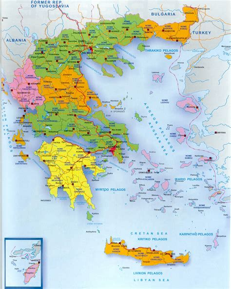 athens map greece map big 470kb maps athens greece
