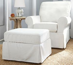 pottery barn glider and ottoman best gliders and rockers lucie s list
