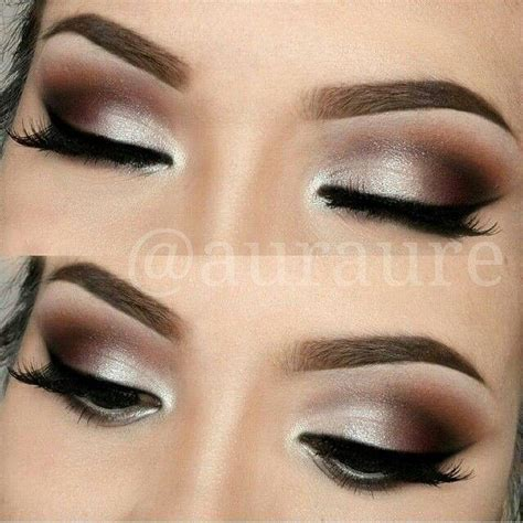 Eyeshadow Wardah Smokey maquillaje para ojos marrones maquillajes wedding eyeshadow looks and wedding