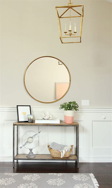 Foyer Colors keeping it simple in the entry studio mcgee