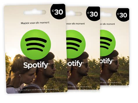 Spotify Unlimited Gift Card - spotify premium betalen zonder creditcard saldozondercreditcard nl