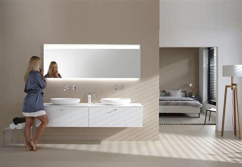badkamermeubel verlichting badkamermeubel solid x met led spiegel bigline van