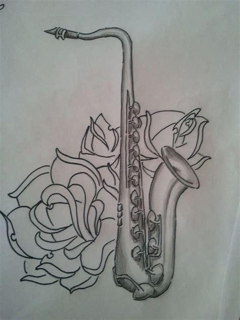 saxophone tattoo best 25 saxophone ideas on flute