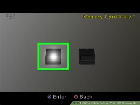 My Ps2 Memory Cards by How To Delete Data Your Ps2 Memory Card 13 Steps
