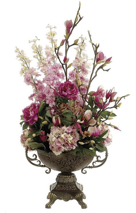 silk centerpieces silk floral centerpieces best 25 silk floral arrangements