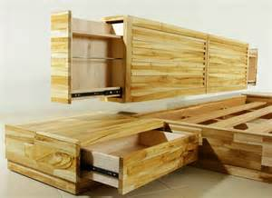 Japanese Platform Bed With Storage Barcelona Platform Bed With Storage Headboard