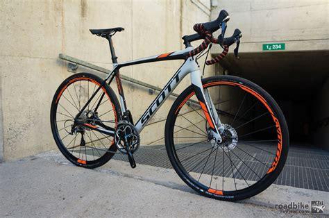 road review 2016 addict gravel disc look road bike news