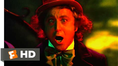 willy wonka boat scene willy wonka the chocolate factory tunnel of terror